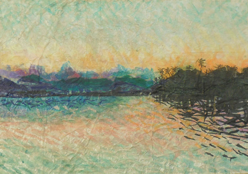 Ford Island View Painting
